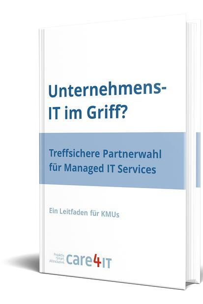 care4it_EBook_Cover_Wahl_MSP_3D.jpgManaged IT Services in KMU: Treffsichere Partnerwahl. IT-Dienstleistungen in Zürich - care4IT
