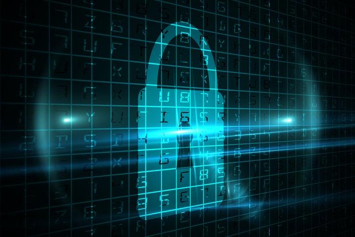 Digital cyber security lock