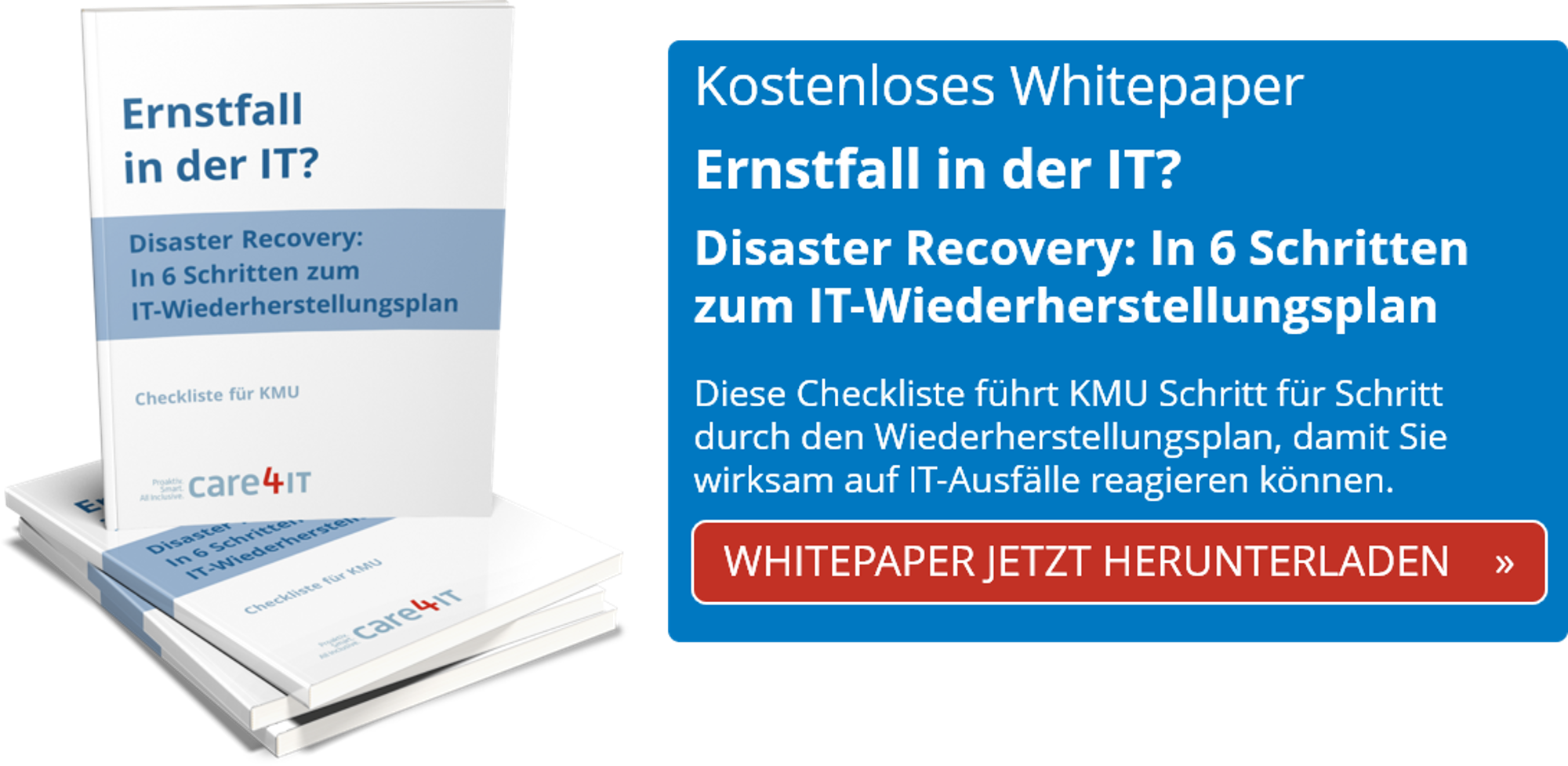 Disaster Recovery | Cyber Security | CTA | Managed IT Services | Zürich